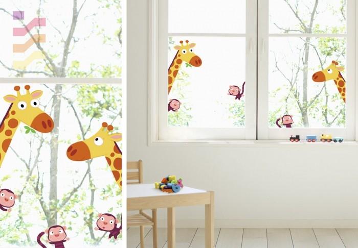 naklejki na okno dla dzieci