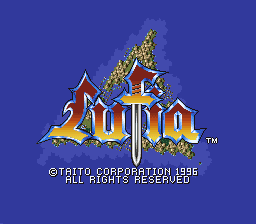Lufia II Europe title screen