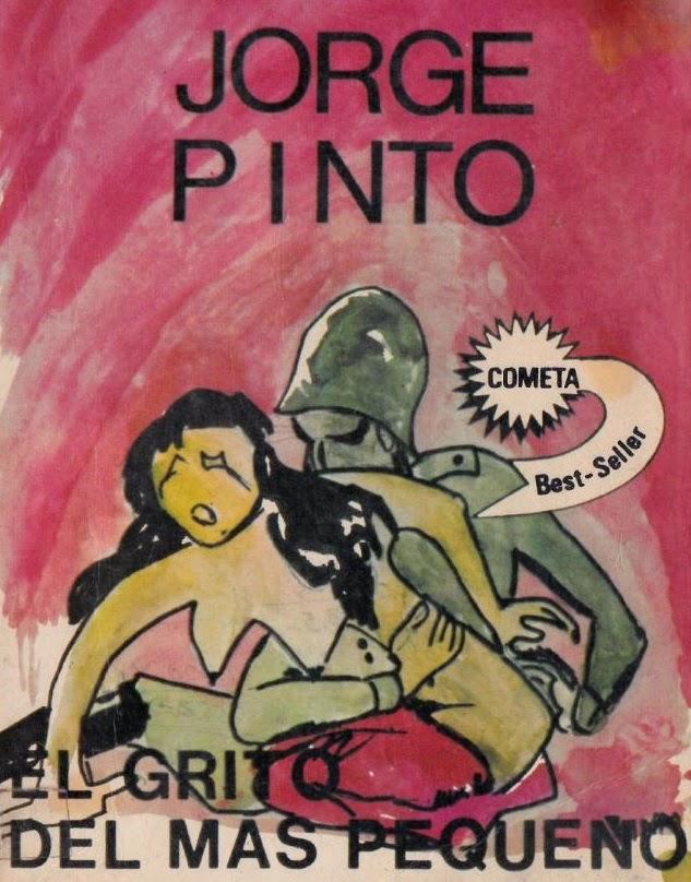 Portada de libro Jorge Pinto h