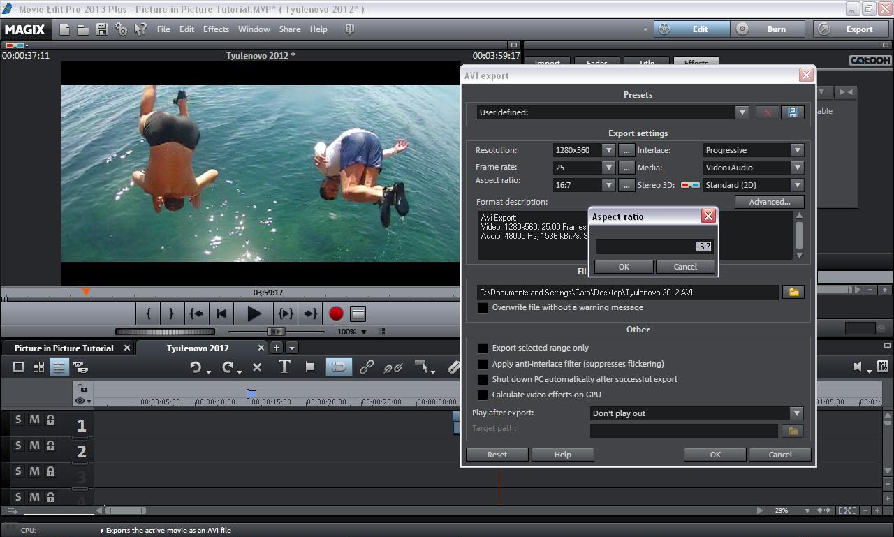 Movie editing programs mac free