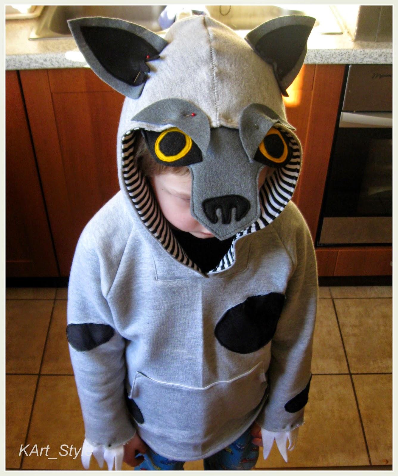 kostium wilka