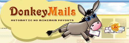 ganha dinheiro fácil com o donkeymails ptr paypal money easy earn donkey payout