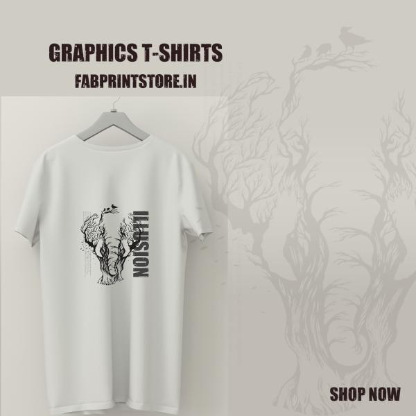 Men's and Women's T-shirts - fabprintstore.in