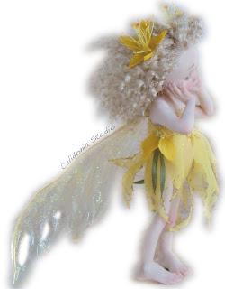 Hypericum Fairy - Fatina dell'Iperico - Bambola d'Artista - by Daniela Messina