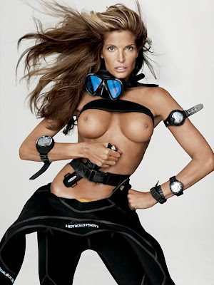 Stephanie Seymour Topless Comeban In V Magazine Spring/Summer 2012