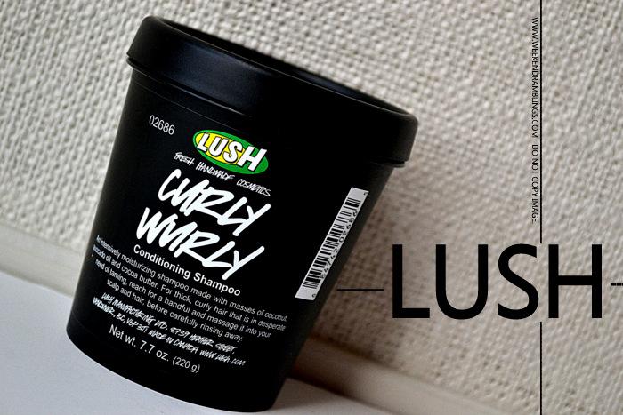 Lush Organic Natural Haircare Curly Wurly Shampoo Indian Beauty Makep Blog Reviews Ingredients Use