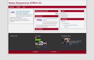 Responsive HTML5 V3