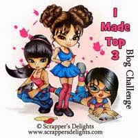 Scrappers Delights Blog Challenge