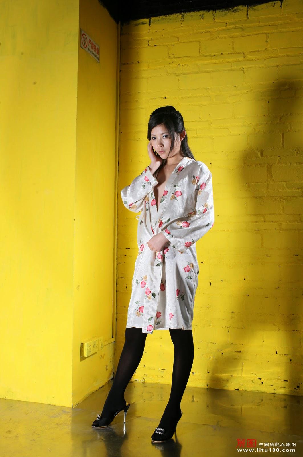 Chinese Nude Model Jiang Wen Wen [Litu100
