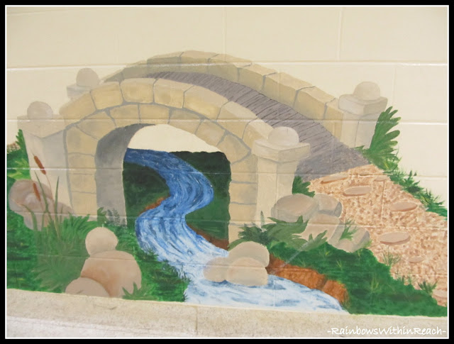 photo of: Mural in Elementary School