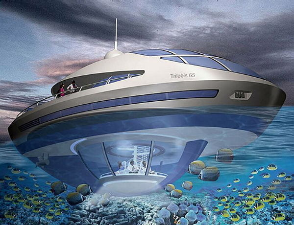 The Information Centre Dubai Underwater House