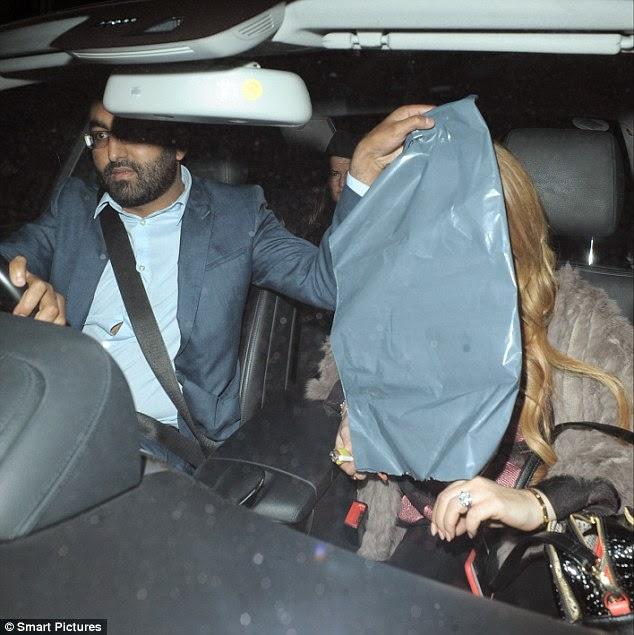 Lindsay Lohan being a plastic bag