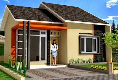 Poto rumah minimalis sederhana