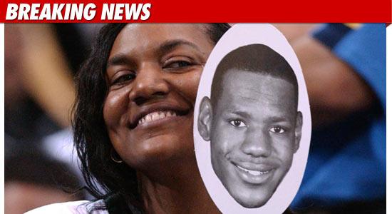 lebron james mom arrested. Lebron James Mother, Arrested