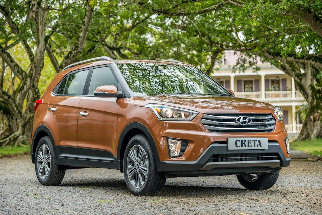 Excitement as Hyundai Shows Off Creta Sub-Compact SUV ...  ·       Totally new, dynamic design with strong body structure