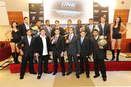 This Is Kind of a Big Deal: ONE FC Posts Fight Card for First ...