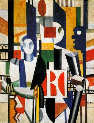 Els homes en la ciutat (Fernand Léger)