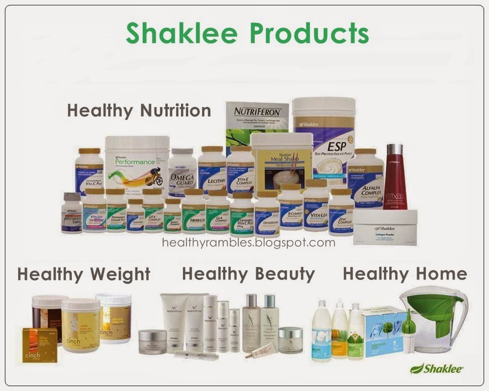 Shaklee Malaysia Products