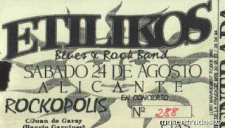 entrada de concierto de etilikos