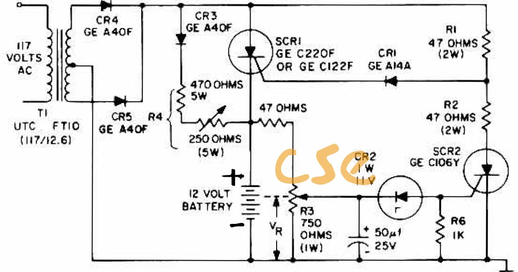 what must todo  circuit battery charging regulator