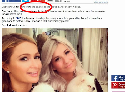 Paris Hilton doggy style funny