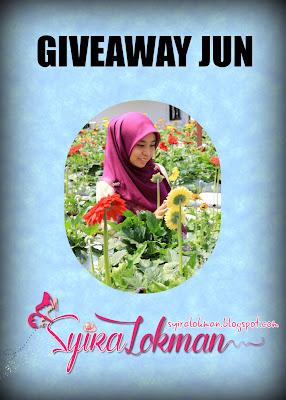 Giveaway Jun by Syira Lokman