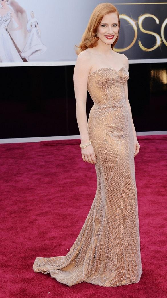 Jessica Chastain oscares 2013