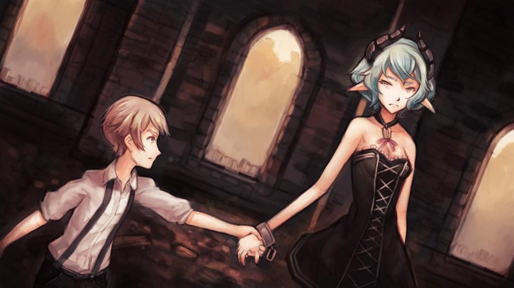 The Visual Novel Central Pair
