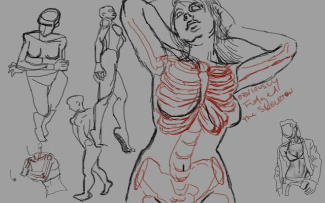 "Spartan Camp #246 - 50 gestures + Optional ""Caricature Study"""