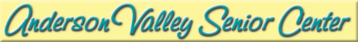 Anderson Valley Senior Center