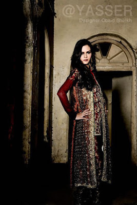Designer Salwar Kameez Collection by Obaid Sheikh