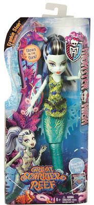 TOYS : JUGUETES - MONSTER HIGH : Great Scarrier Reef  Frankie Stein | Muñeca - Doll   Producto Oficial 2015 | Mattel | A partir de 6 años  Comprar en Amazon España & buy Amazon USA