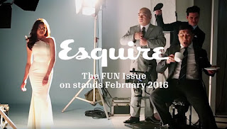 Maine Mendoza, Wally Bayola, Jose Manalo and Paolo Ballesteros on Esquire Philippines this February 2016