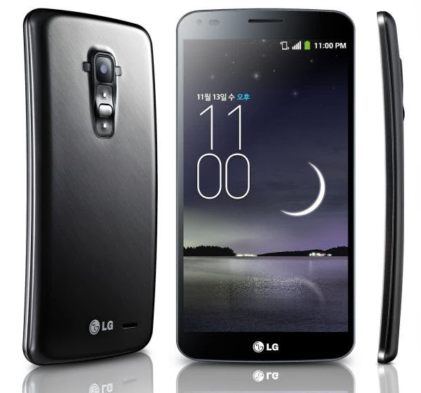 LG G Flex Smartphone Android OS Harga Rp 5.9 Jutaan