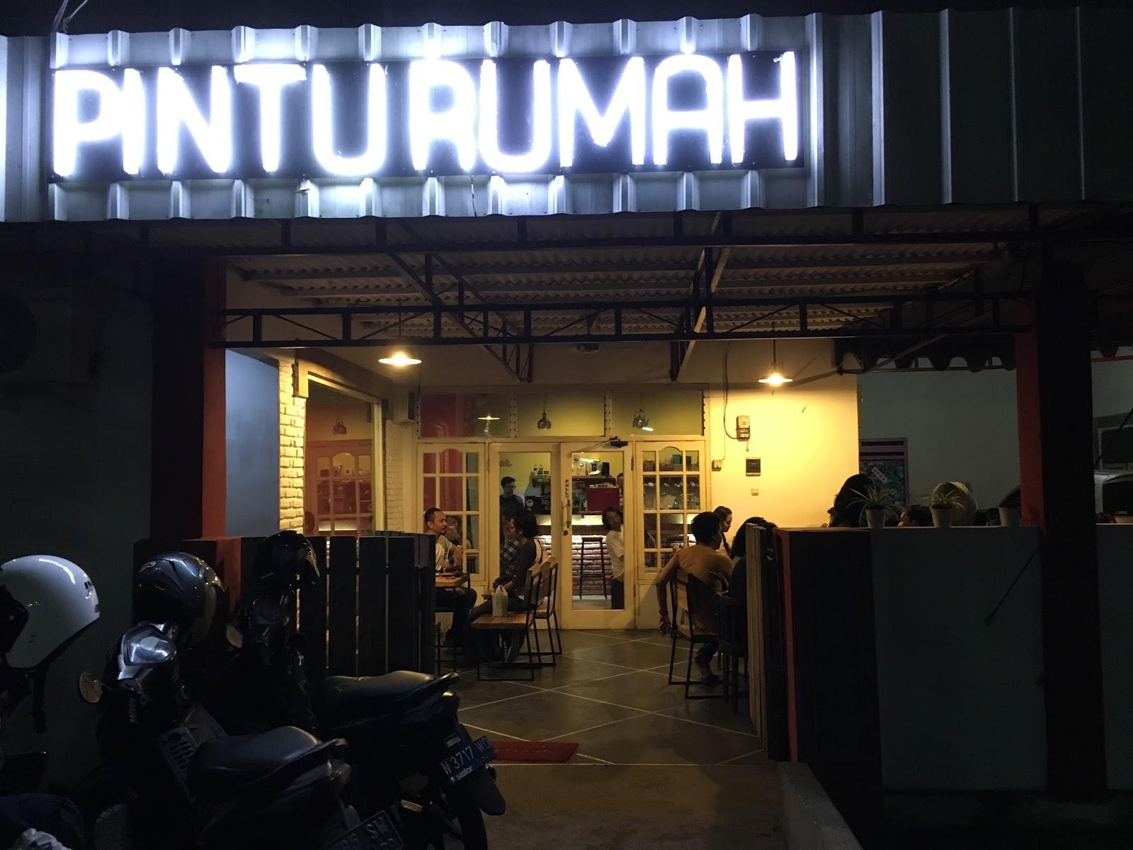 TITO LAGI Pintu Rumah Kafe Minimalis Yang Murah Dan Enak Di Deket Kampus