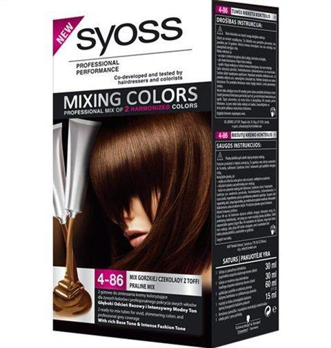 Pin Syoss Mixing Colors 1 13 Blackberry Mix On Pinterest