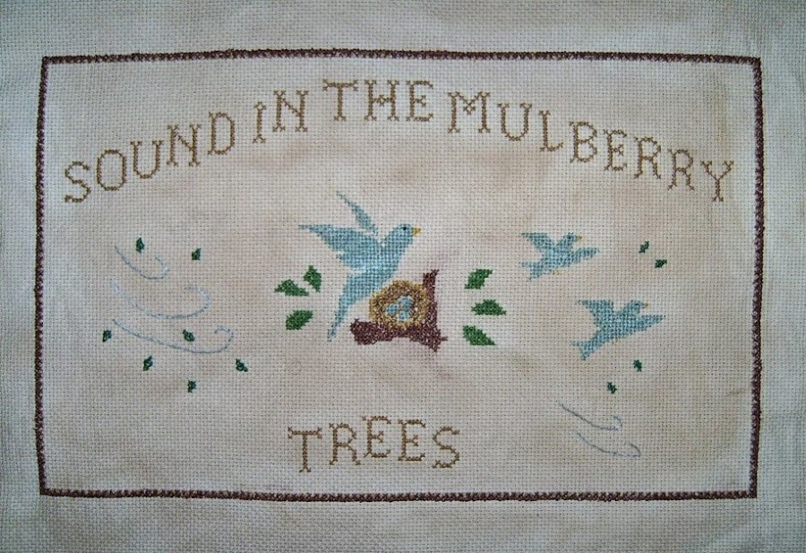 ~Sound of the Goings in Top of the Mulberry Trees~