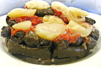 Vegetarian Stuffed Grape Leaves Recipe – Rino Enab