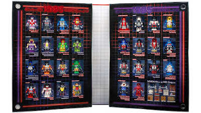 "San Diego Comic-Con 2015 Exclusive Transformers ""Kreon Class of 1985"" KRE-O Mini Figure Box Set"