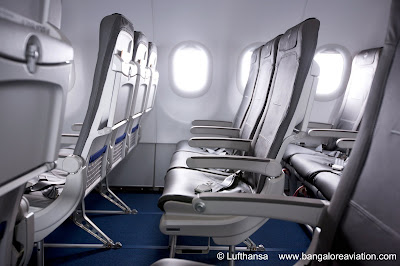 New Lufthansa Europe Europa slim line light weight Recaro seats