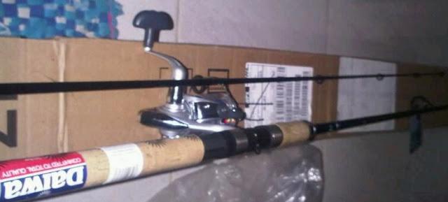 gambar alat pancing daiwa 1