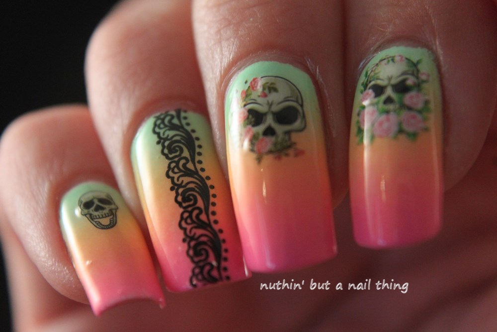 Nuthin39 But A Nail Thing Skull Art