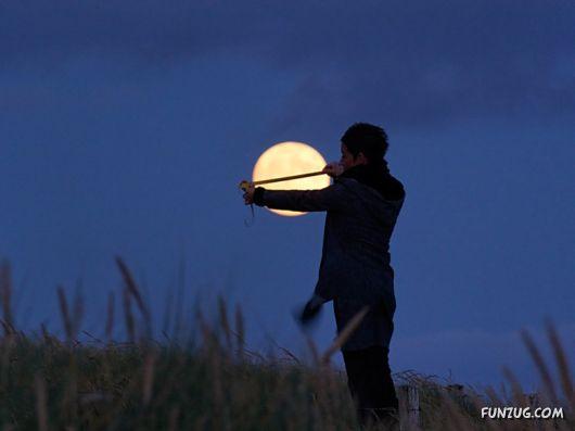 creative moon