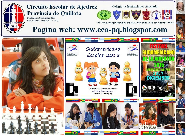 SUDAMERICANO ESCOLAR (Paraguay) SUDAMERICANO FEDERADOS (Bolivia) 2015