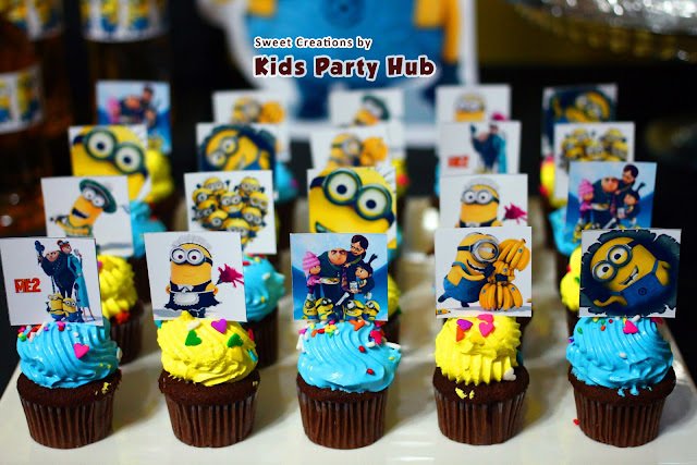 Despicable Me Minions Party Cupcakes