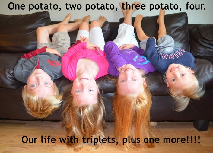 One potato, two potato, three potato, four,