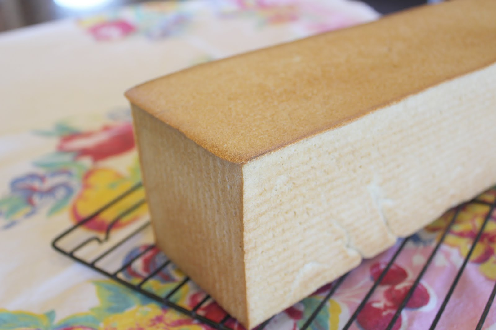 When sliced, they make a perfect square sandwich bread. Great for