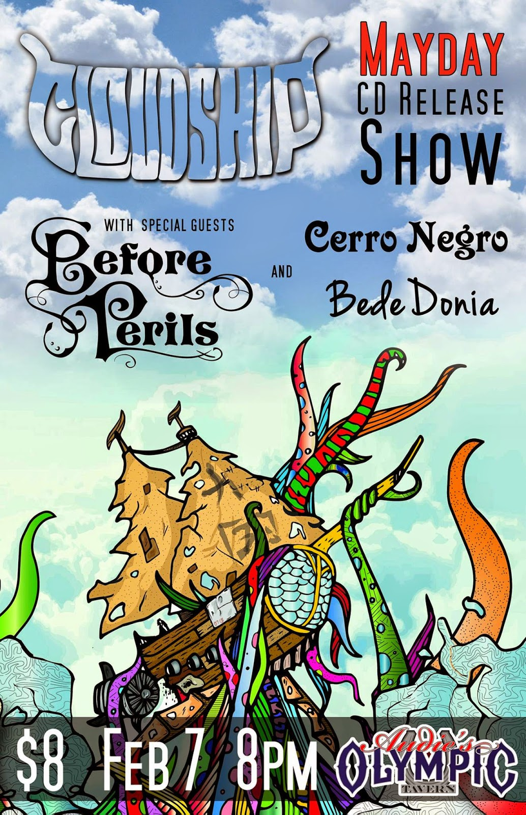 c5df07e1d636 And be sure to check out their album release show Saturday at Audie s  Olympic! Special guests include Cerro Negro