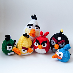 Complete Amigurumi Collection : Anything Knitted and Crocheted: So now that I am done my ...