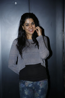 Telugu Actress Sakshi Choudhary Pictures in Jeans at Potugadu Telugu Movie Success Meet Function 0015.jpg